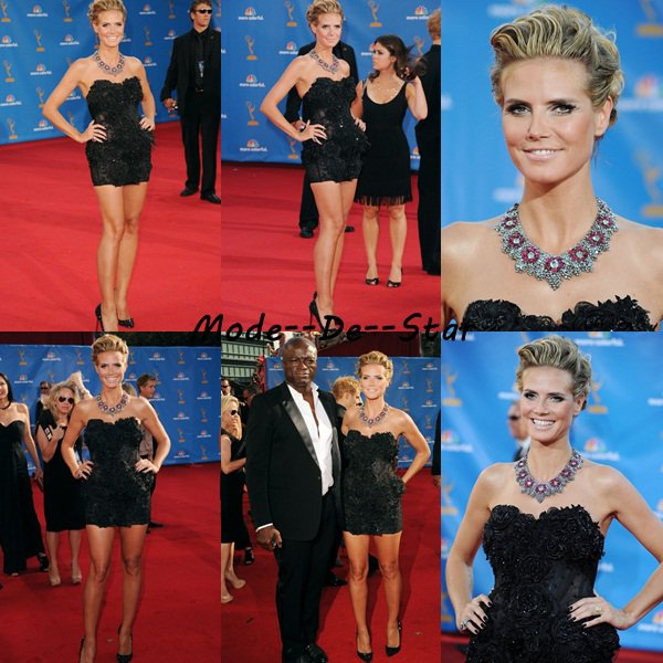 Heidi Klum au Emmy Awards 2010