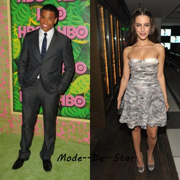 Tristan Wilds & Jessica Lowndes a L'After Party Des Emmy Awards 2010