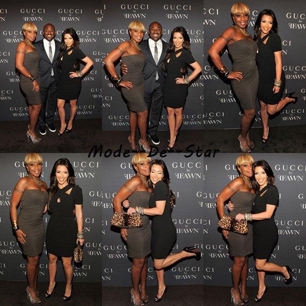 Kim Kardashian & Mary J Blige