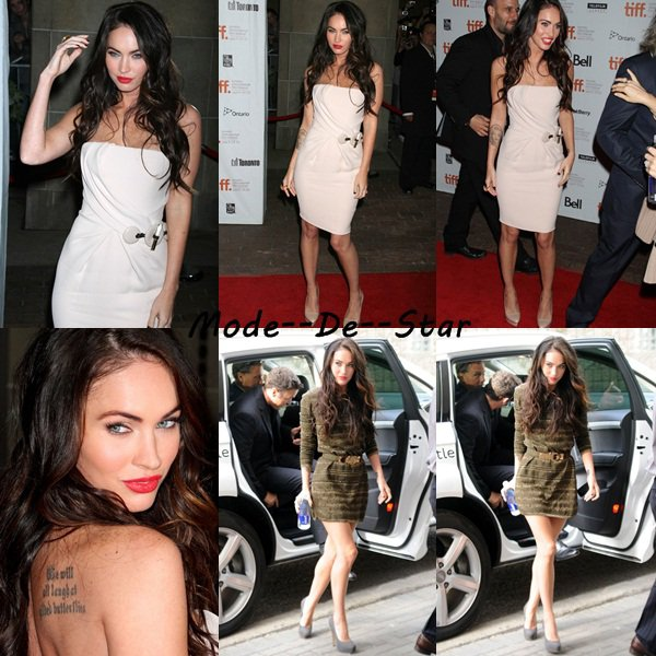 Megan Fox Toronto International Film Festival 2010
