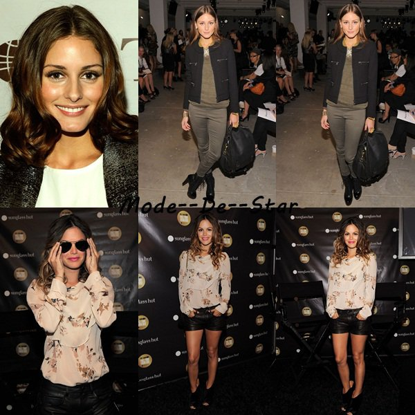 Rachel Bilson , Olivia Palermo , Heidi Klum & Shenae Grimes au New York Fall Fashion Week 2010 - Spring Collection 11