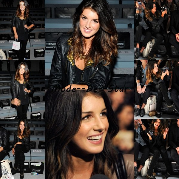Shenae Grimes a la Fashion Week 2010