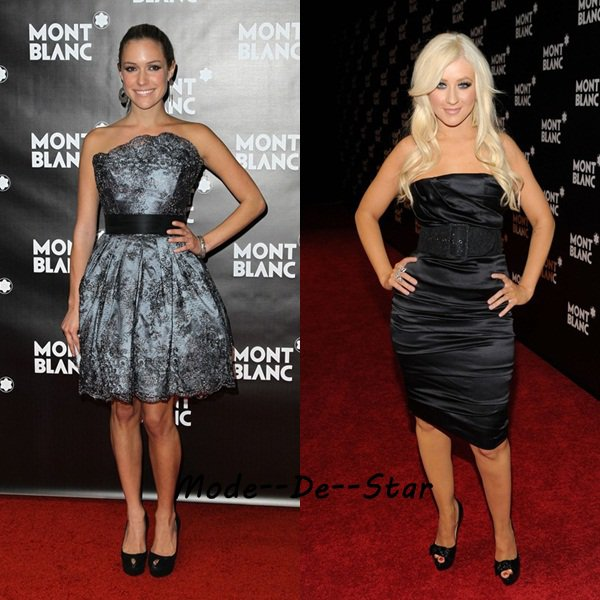 Kristin Cavallari & Christina Aguilera