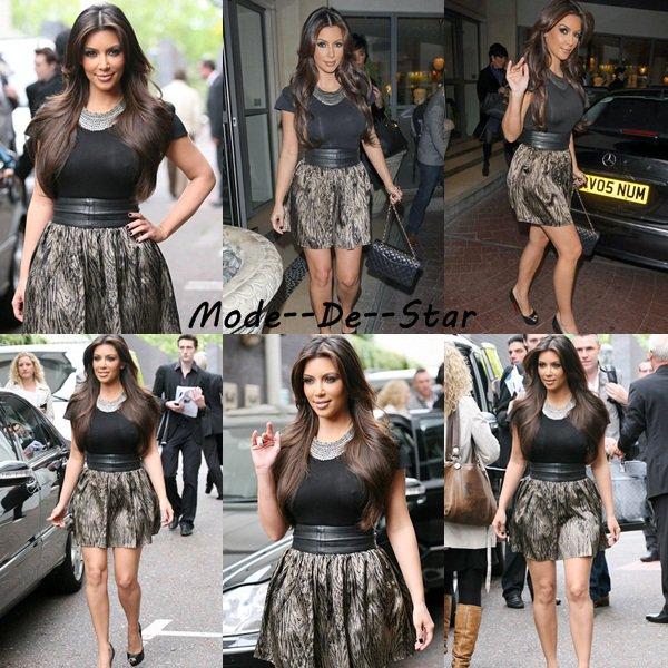 Kim Kardashian & sa mère était au ITV studios a Londre