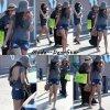 Vanessa Hudgens faisant du  Shopping a Malibu avec sa Mère & sa Soeur