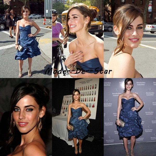 Jessica Lowndes a la Fashion Week