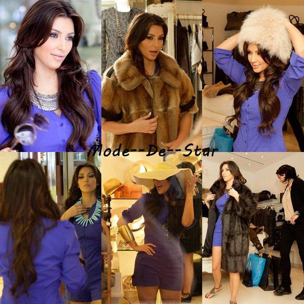 Kim Kardashian & Sa mère En Italie