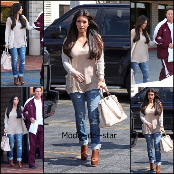 Km Kardashian ces derniers jours