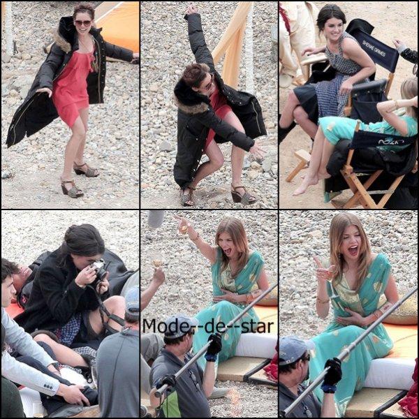 Sur le Set de 90210 :)