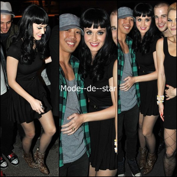 Katy Perry a Paris