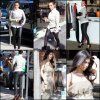 Kim Kardashian & Kourtney : J'aime beaucoup la robe de Kourtney mais je n'aime pas trop le pantalon de Kim je trouve qu'il ne lui va pas très bien :\