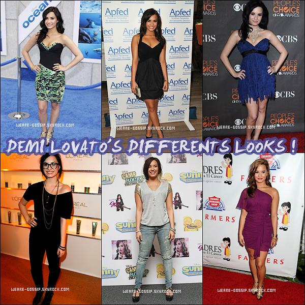 * Demi Lovato a été élu la Teen là mieux habillée en 2011 !*