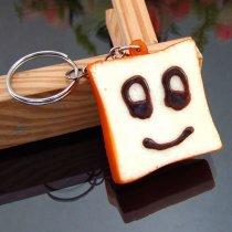 porte clé toast kawaii