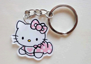 Porte clés hello kitty