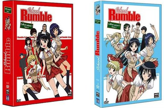 Saison 1 coffret 1 & 2 school rumble