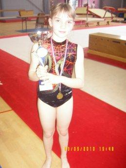 Voilà ma passion la gymnastique