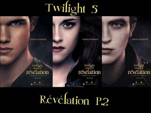 Twilight 5: nous l'attendons avec impatiente !!!!