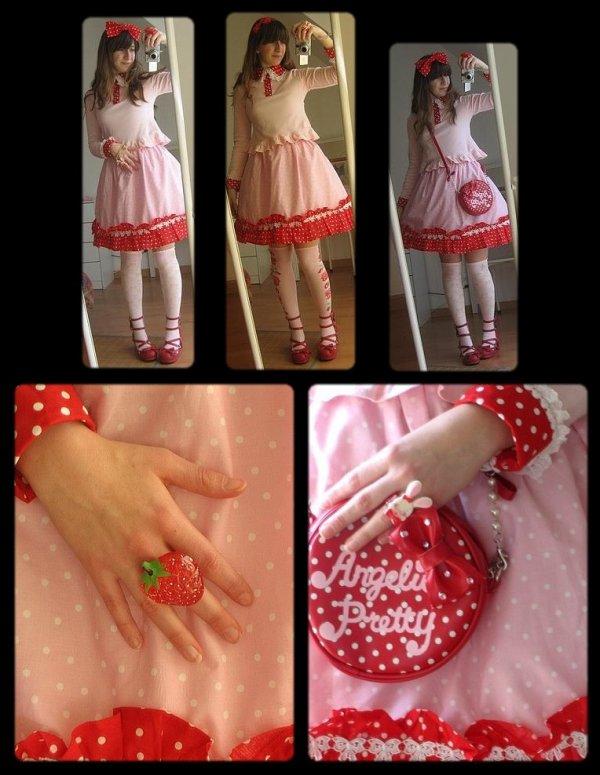 ♥♥ En rouge et rose! ♥♥