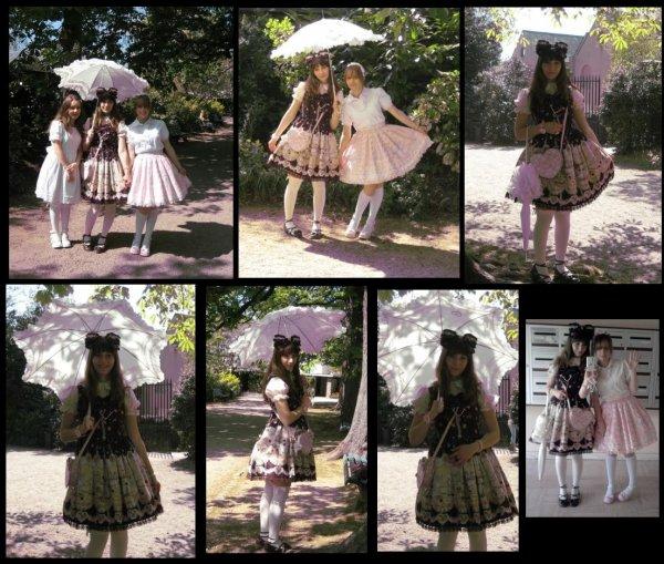 ♥ Meeting entre soeurs lolita: le rêve quoi! ♥
