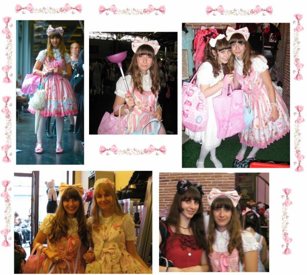 1er jour à Paris en Wonder Party!! Japan Expo et Ouverture de la boutique Angelic Pretty!