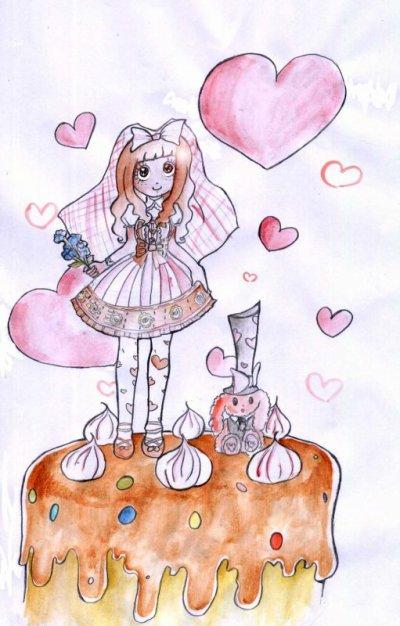 ♥ Quand d'adorables personne me dessinent ! hihi ♥