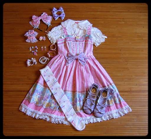 ♥ Carrousel rose et lavande ♥