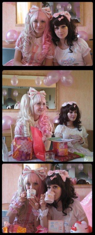 ♥ Tea Party d'Anniversaire de Blanche et moi!!!! ♥
