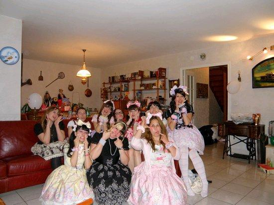 ♥ Week end de Pâques à Paris!! Premier jour: fête d'anniversaire en soirée! ♥