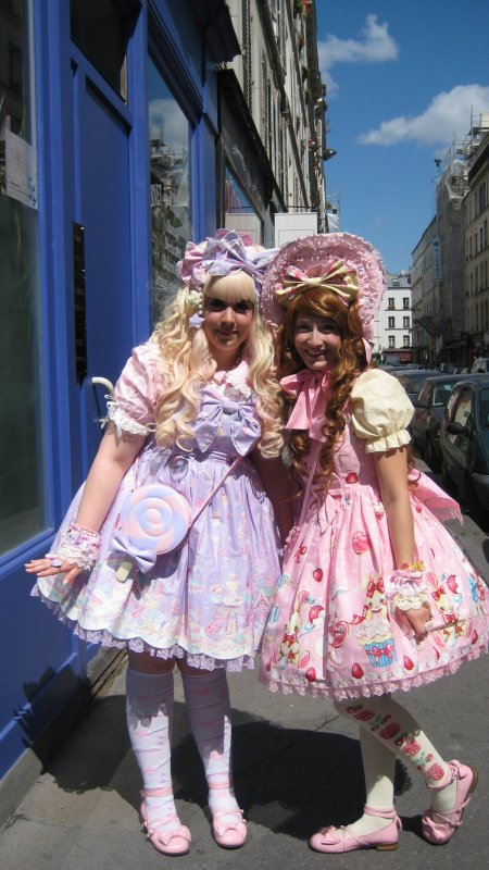 ♥ Week end à Paris! Premier jour: visite des boutiques (Angelic Pretty) ♥