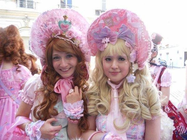 ♥ Week end à Paris! Deuxième jour: Tea Party Angelic Pretty ♥