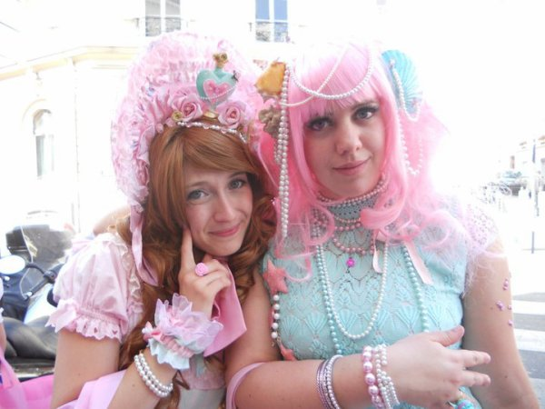 ♥ Week end à Paris! Deuxième jour: Tea Party Angelic Pretty ♥