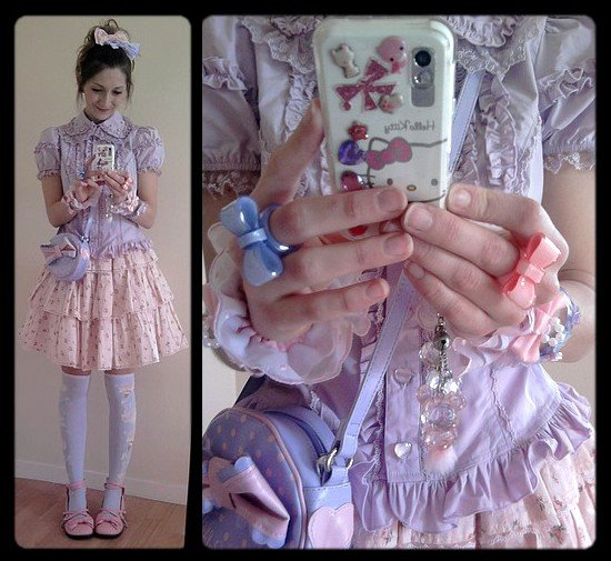 Le retour de la jupe rose avec du menthe, du jaune, du bleu, du lavande et du vert pomme!