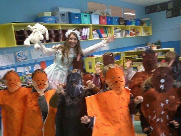 """Carnaval de l'école en mode """"Alice"""""""