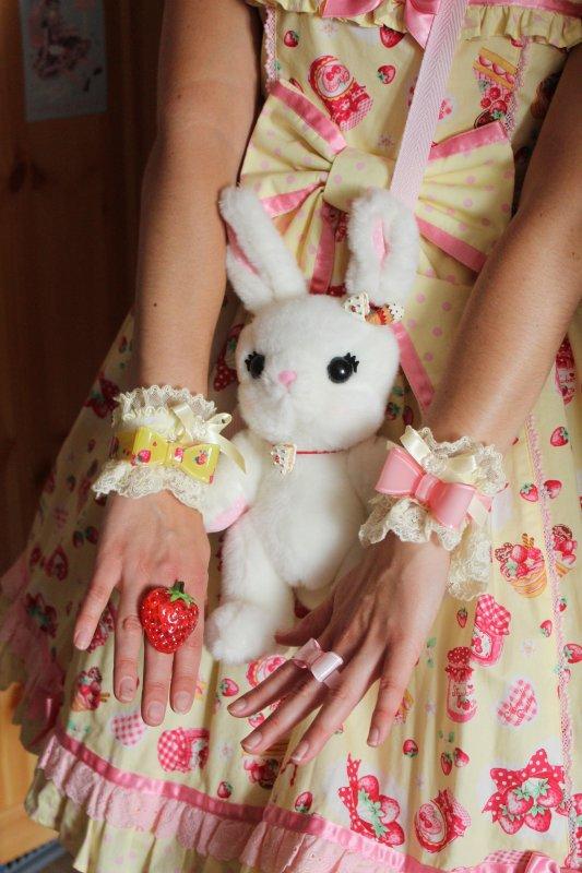Twinnage rouge et rose avec Saina et tenue cerise ^_^