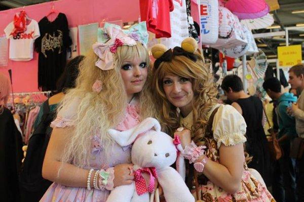 Paris 2013: Jour 1 à la Japan Expo en Little Bears Cafe