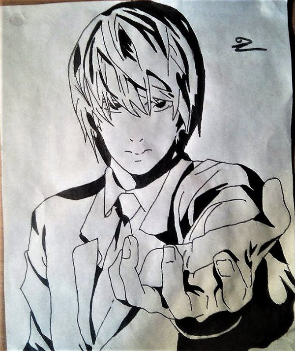 Dessin manga (3)  Death note