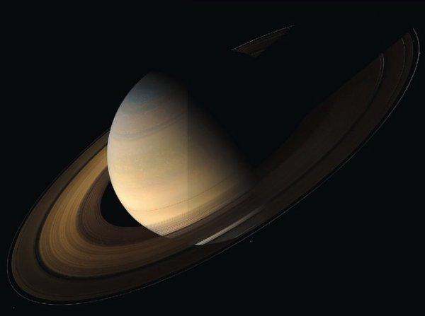 Clair de Saturne...Bonne nuit!