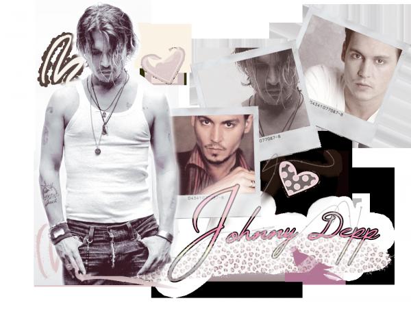 Note ma création sur Johnny Depp