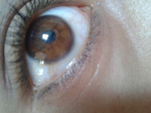 Mes yeux..