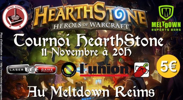 Tournoi HearthStone by Reims Gaming