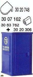 3004 Ouvriers de chantier & dameuse