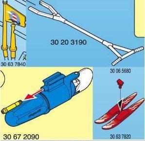 3009 Bateau hors bord ski nautique