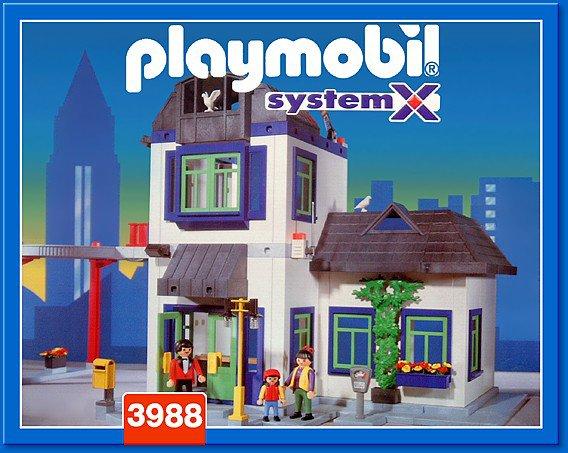 Playmobil maison de ville maison de ville de playmobil for Salle a manger playmobil city life