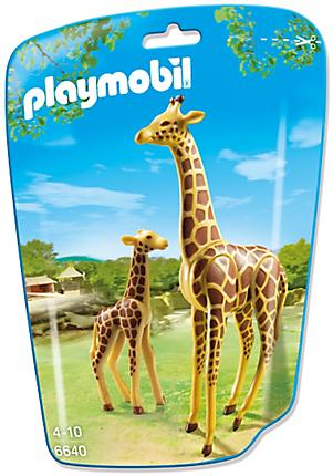 6640 Girafe et girafon