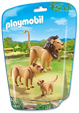 6642 Famille de lions