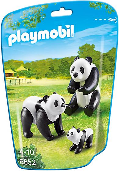 6652 Famille de pandas