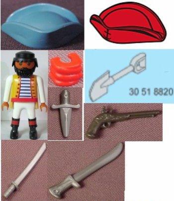 5136 Equipage de pirates avec armes