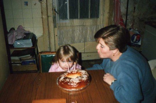 mes 2 ans avec maman <3. tu es partie un 21 octobre 2009 :/
