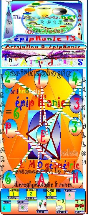 hieroglyphologie taméry arithmologie 2013 Ä scissy G'astronomie artologie