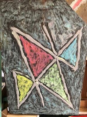 l'art-naÏf OMEGÄLPHA du pentagramme